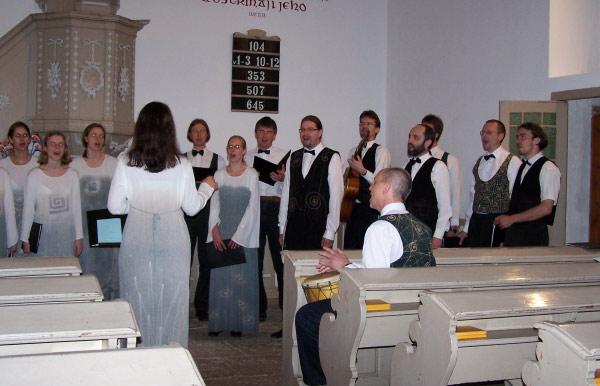 Koncert pěveckého sboru Sonaglio